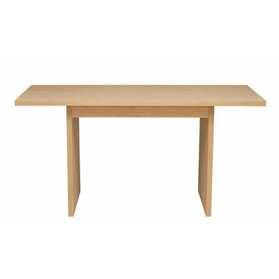 Thompson Dining Table Finish: Toffee, Wood Veneer: Walnut