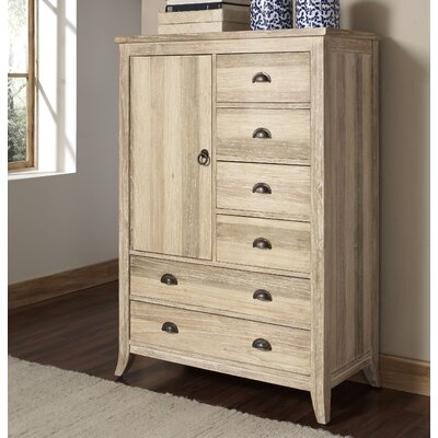 Cimarron 6 Drawer Gentlemans Chest Color: Rustic Bronze