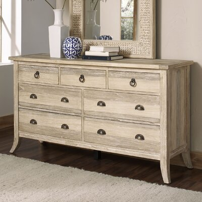 Cimarron 7 Drawer Dresser Color: Rustic Bronze