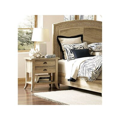 Fairwind 2 Drawer Nightstand Finish: Rustic Bronze