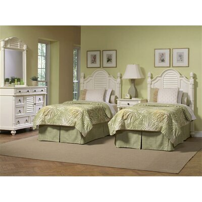 Island Manor Panel Headboard Size: King
