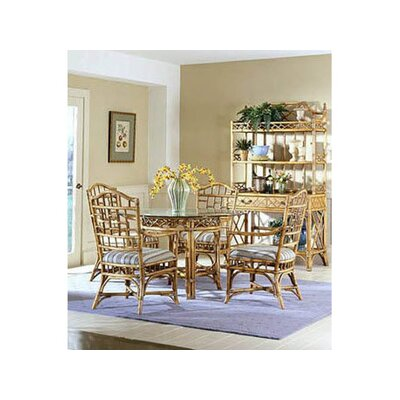 Chippendale Dining Table Color: Bisque