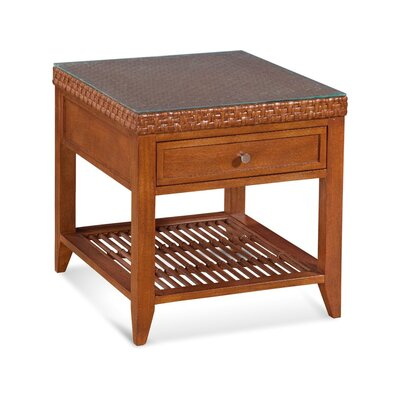 Campobella Isle End Table Color: Java