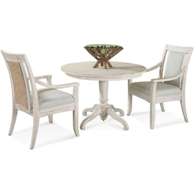 Fairwind Upholstered Dining Chair Upholstery Color: White Textured Plain; 0863-91