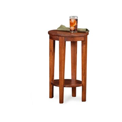 Concord Round End Table Color: Driftwood