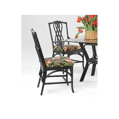 Overture Dining Chair Upholstery: 0358-88/Black