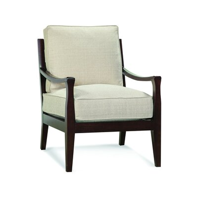 Libby Langdon Milton Armchair Upholstery: 0863-84/Honey