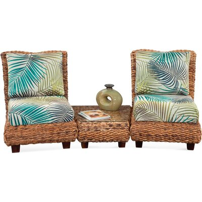 South Seas Conversation End Table