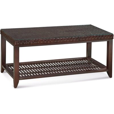 Campobella Isle Rectangular Coffee Table Color: Vintage