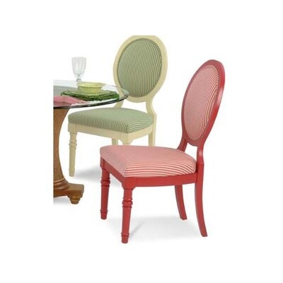 Sawgrass Upholstered Dining Chair Upholstery: 0863-84/Honey