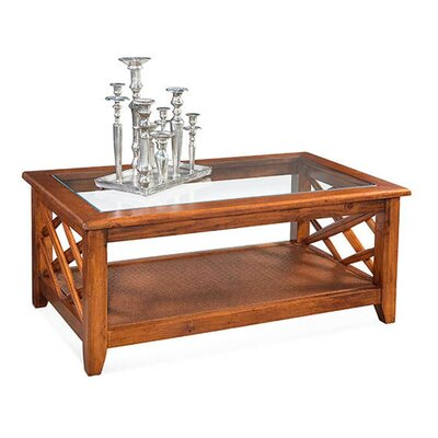 Cross Roads Coffee Table Color: Vintage