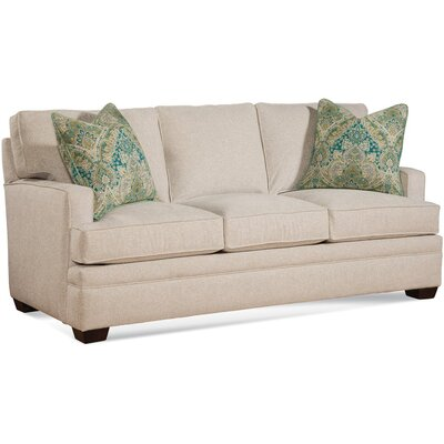 Three Cushion Sofa Upholstery: 0863-93/Driftwood