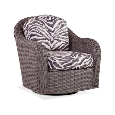 Swivel Armchair Upholstery: 0358-88/Black