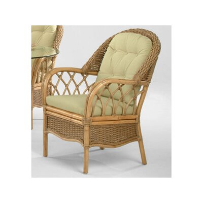 Everglade Upholstered Dining Chair Upholstery: 0201-64/Honey