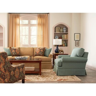 Kensington Skirted Sofa Upholstery: 0358-88