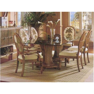 Sawgrass Dining Table Color: Linen
