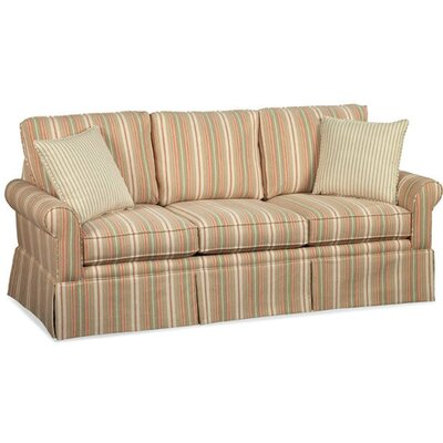Eastwick Sofa Upholstery: Green and Blue Stripe; 0216-53