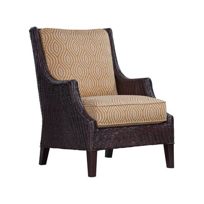Highlands Armchair Upholstery: 0201-64/Black