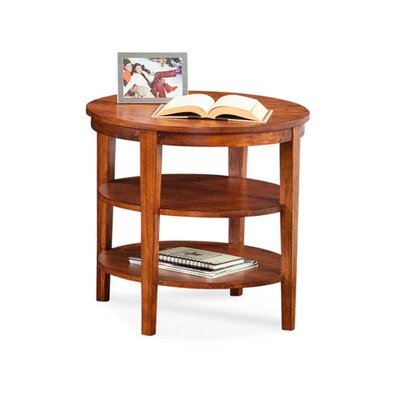 Concord Round End Table Color: Black