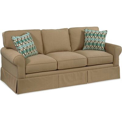 Benton Sofa Upholstery: Green and Blue Stripe; 0216-53