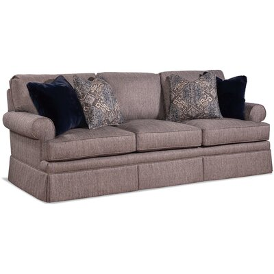 Three Cushion Sofa Upholstery: 0863-91/Driftwood