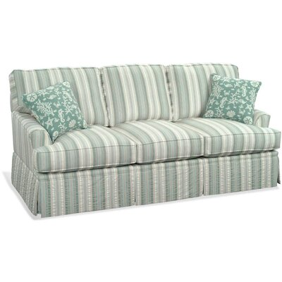 Westport Sofa Upholstery: Blue Stripe; 0201-64