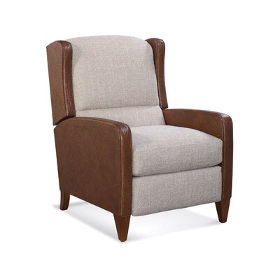 Passages Manual Glider Recliner Upholstery: 0358-88/Natural