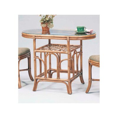 Arbor Breakfast Dining Table Color: Java
