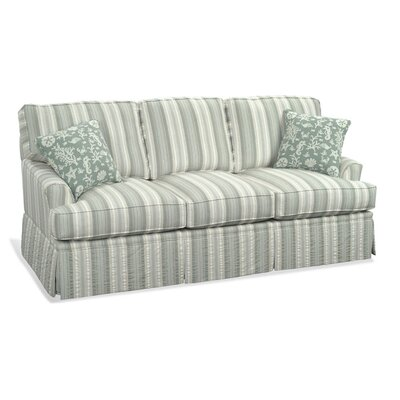 Westport Queen Sleeper Upholstery: Green and Blue Stripe; 0252-54