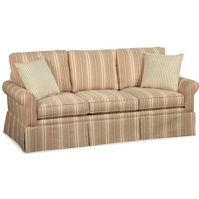 Eastwick Queen Sleeper Upholstery: White Chevron; 0307-94
