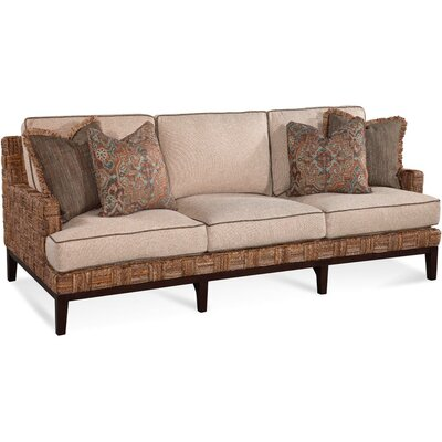 Abaco Island Sofa Upholstery: Brown Textured Plain; 0851-73