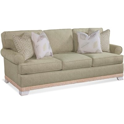 Fairwind Sofa Upholstery: Green and Blue Textured Plain; 0805-54
