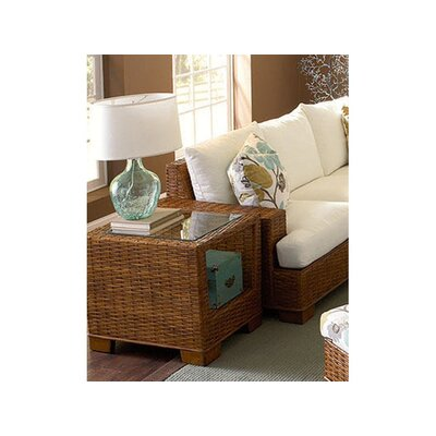 Bali End Table Color: Graystone