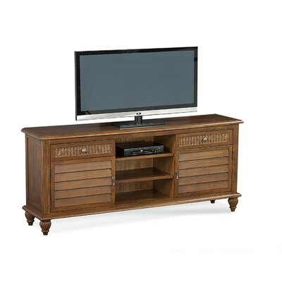 Grand View 64 TV Stand Color: Antique Cottage White