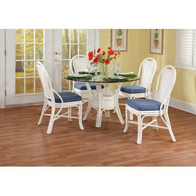 Acapulco Dining Table Color: Cottage White