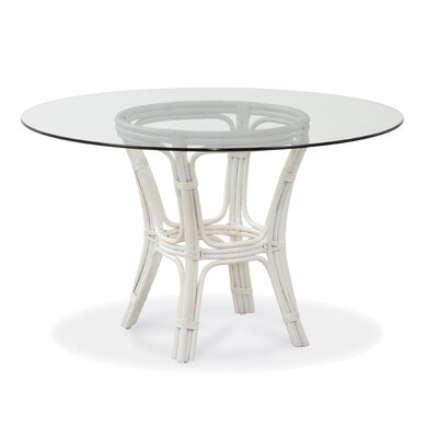 Trellis Dining Table Color: Parchment
