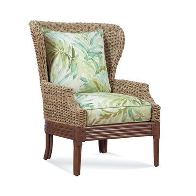 Bridgetown Wingback Chair Upholstery: 0252-54