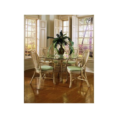 Acapulco Dining Table Color: White