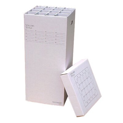 16 Slot Rolled Filing Box Size: 37