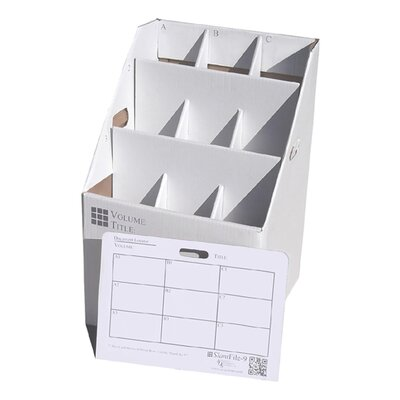 9 Slot Rolled Document Rolled Filing Box
