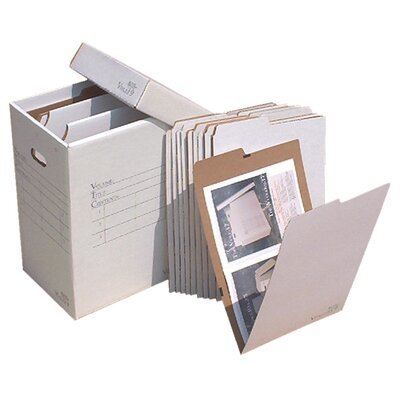 Vertical Flat File System Filing Box Size: 20
