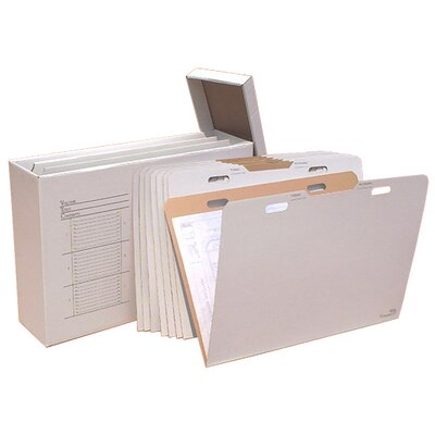 Vertical Flat File System Filing Box Size: 29