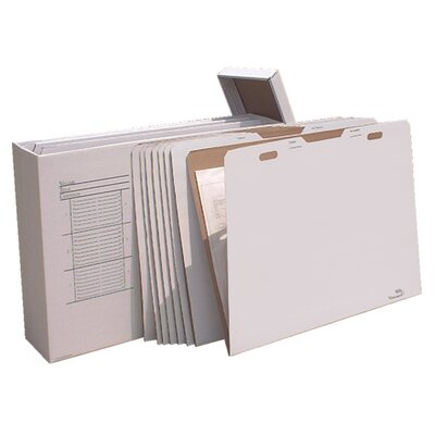Vertical Flat File System Filing Box Size: 34