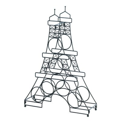 Eiffel Tower 6 Bottle Tabletop Wine Rack
