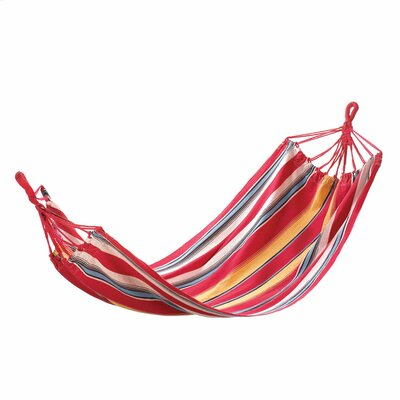 Sunny Stripes Cotton Tree Hammock