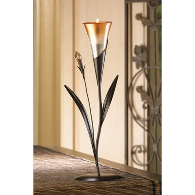 Zingz & Thingz Sparkling Lily Candle Holder 13917