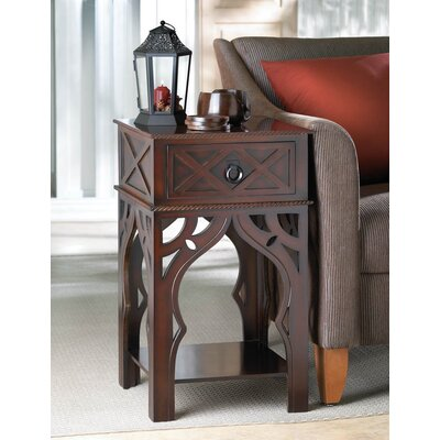 Moroccan-Style End Table