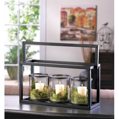 Zingz & Thingz 4 Piece Ironside Candle Display Set 57071762