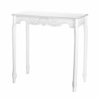 Scalloped Hall End Table