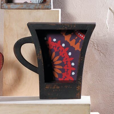 Dark Coffee Cup Shelf 10017107